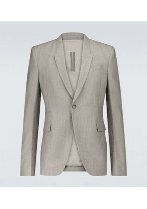 Soft Soft wool and mohair blazer