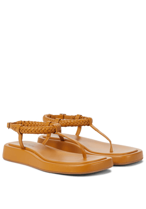 Rosie 3 leather thong sandals