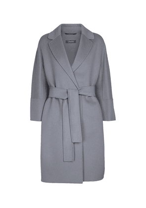 Arona belted virgin wool coat