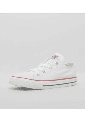 Converse Chuck Taylor All Star Ox Infant, White