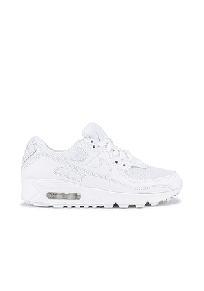 Nike Air Max 90 365 Sneaker in White. Size 7.5.