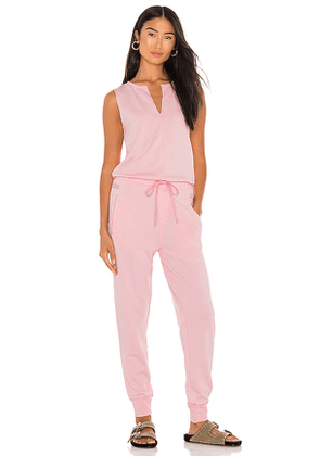 525 Sleeveless Jumpsuit in Pink. Size XS, M.