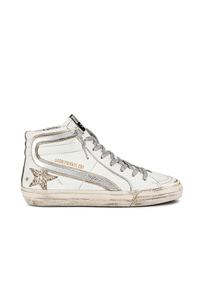 Golden Goose X REVOLVE Slide Sneaker in White. Size 40.