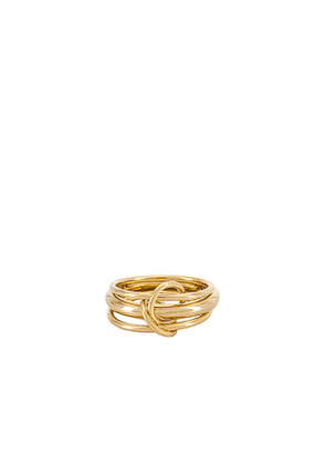 8 Other Reasons Kisses Ring in Metallic Gold.