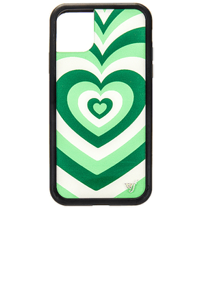 Wildflower iPhone 11 Case in Green.