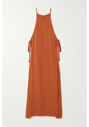 Cult Gaia - Remi Convertible Linen-blend Maxi Dress - Orange