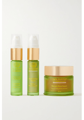 Tata Harper - Green Beauty Heroes Set - Colorless