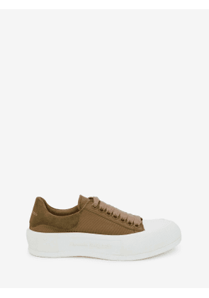 ALEXANDER MCQUEEN Deck Lace Up Plimsoll - Item 654593W4PQ13227