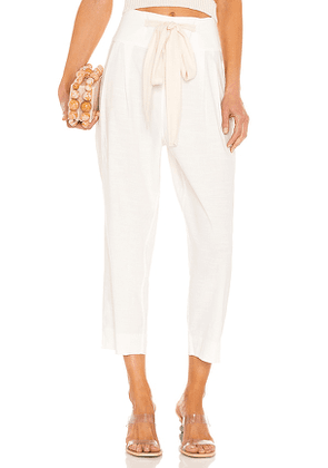 Cult Gaia Judith Pant in White. Size XS.
