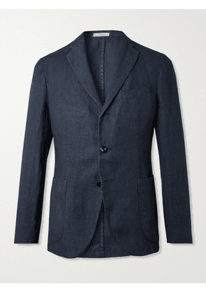 BOGLIOLI - Linen Suit Jacket - Men - Blue - IT 46