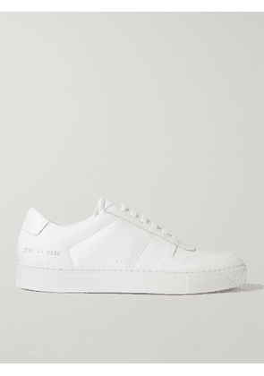 COMMON PROJECTS - BBall Leather Sneakers - Men - White - EU 43