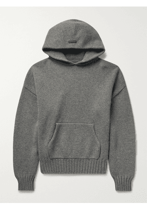 FEAR OF GOD - Oversized Wool Hoodie - Men - Gray - XL