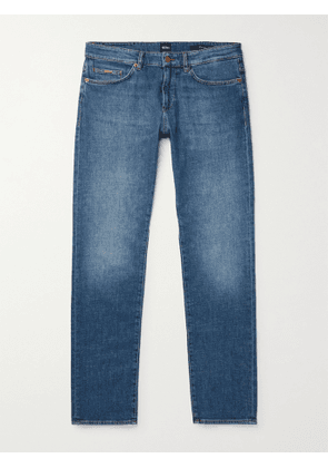 HUGO BOSS - Delaware Slim-Fit Stretch-Denim Jeans - Men - Blue - UK/US 30