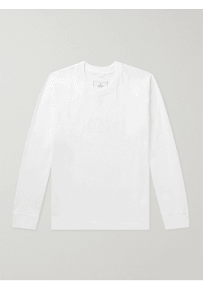 REIGNING CHAMP - Cotton-Jersey T-Shirt - Men - White - XS