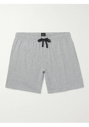SCHIESSER - Mélange Cotton-Jersey Pyjama Shorts - Men - Gray - S