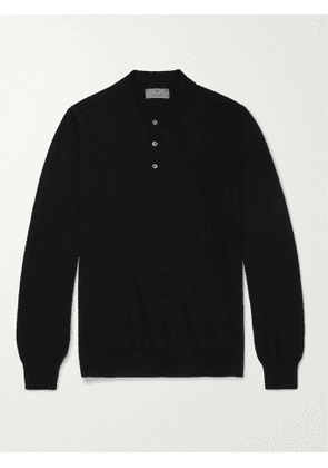 CANALI - Cotton Polo Shirt - Men - Black - 48