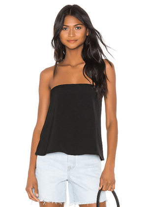 superdown Amanda Strapless Top in Black. Size XS, S, M.