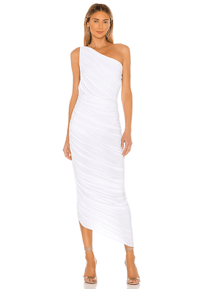 Norma Kamali X REVOLVE Diana Gown in White. Size XS.
