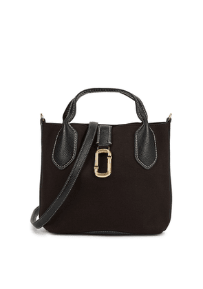 Marc Jacobs (The) The Reporter Black Canvas Top Handle Bag