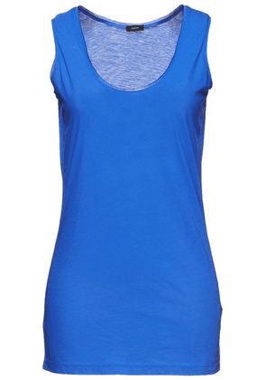 Joseph Cotton-jersey Tank Woman Blue Size L