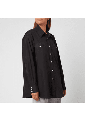 Our Legacy Women's Ranch Shirt - Black - XS