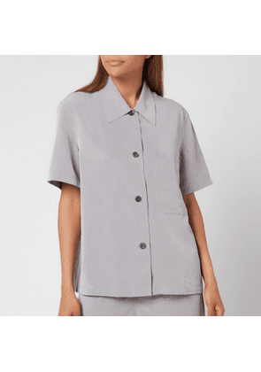 Our Legacy Women's Short Sleeve Square Shirt - Grey - FR 34/UK 6