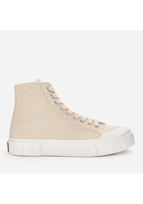 Good News Men's Palm Hi-Top Trainers - Oatmeal - UK 7