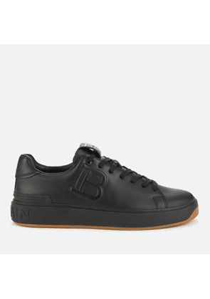 Balmain Men's B Court Embossed Trainers - Noir - UK 10