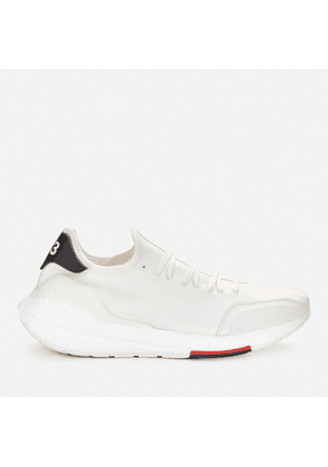 Y-3 Men's Ultraboost 21 Trainers - Clear Brown/Off White/Red - UK 7