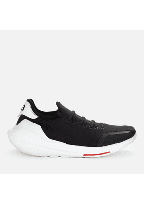 Y-3 Men's Ultraboost 21 Trainers - Black/Red - UK 7