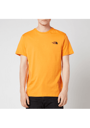 The North Face Men's Simple Dome Short Sleeve T-Shirt - Light Exuberance Orange - S