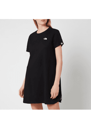 The North Face Women's Simple Dome T-Shirt Dress - TNF Black - XS