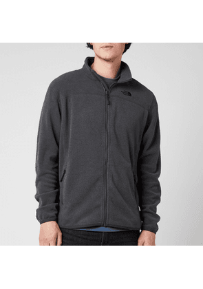 The North Face Men's Glacier Full Zip Fleece - TNF Dark Grey Heather - S