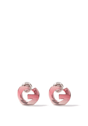Givenchy - G-chain Earrings - Womens - Pink