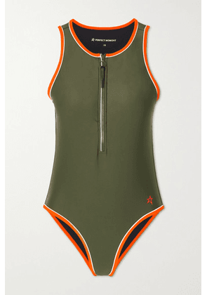 Perfect Moment - Active Swimsuit - Dark green