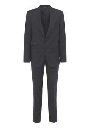Wool Prince Of Wales Day Suit