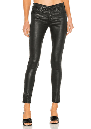 AG Adriano Goldschmied Legging Ankle in Black. Size 24, 28, 23.