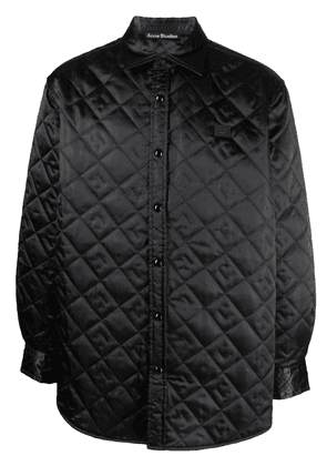 Acne Studios quilted lightweight jacket - Black