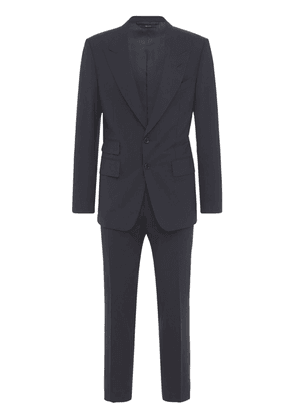 Single Breast Stretch Wool Day Suit