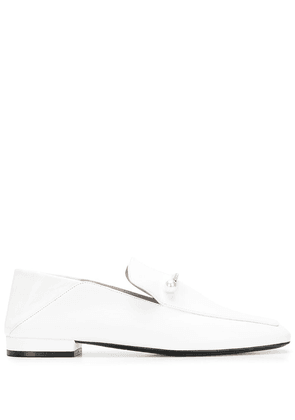 Coliac Valerio leather loafers - White
