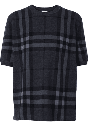 Burberry Vintage Check knitted top - Grey