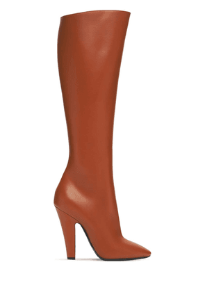 110mm 68 Tall Leather Boots