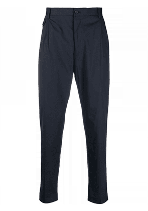 Dolce & Gabbana pleat-detail tailored trousers - Blue