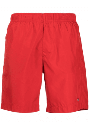 Givenchy 4G plaque swim shorts - Red