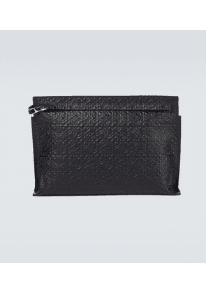 T Pouch in leather