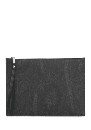 Printed Canvas Tablet Case