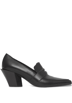 Burberry pointed-toe low-heel loafers - Black