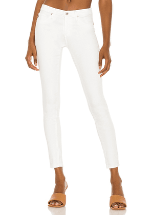 AG Adriano Goldschmied Legging Ankle in White. Size 25, 26, 29, 30, 31.