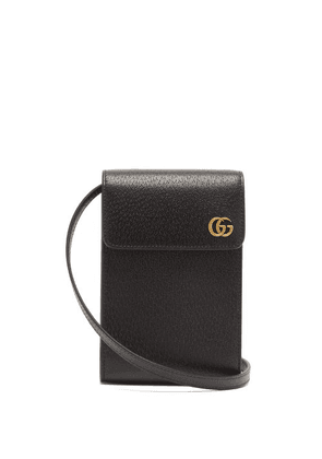 Gucci - GG Grained-leather Cross-body Bag - Mens - Black