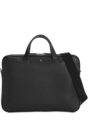 Logo Mst Leather Briefcase